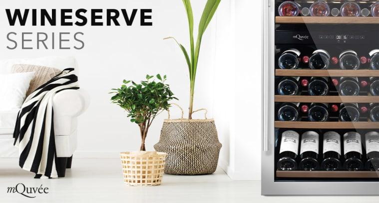 Fritstående vinkøleskabe - Wine Serve Collection