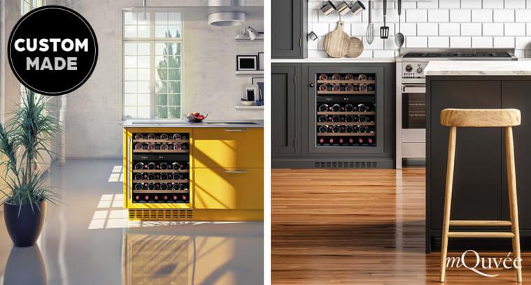 mQuvée Custom made - ¡Diseñe su propia vinoteca!