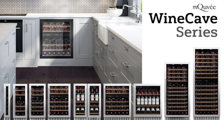 Innbyggbare vinskap - våre mest stillegående enheter!