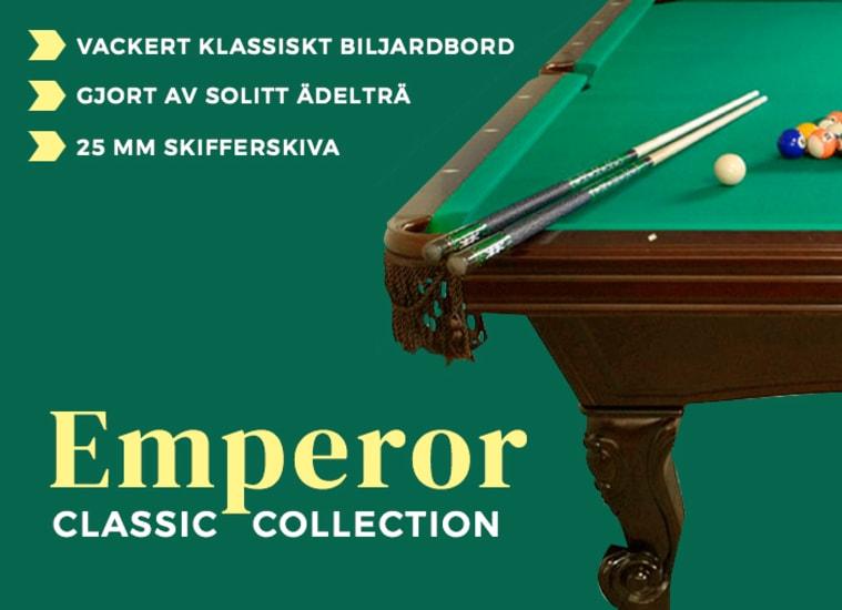 Biljardbord Classic Collection