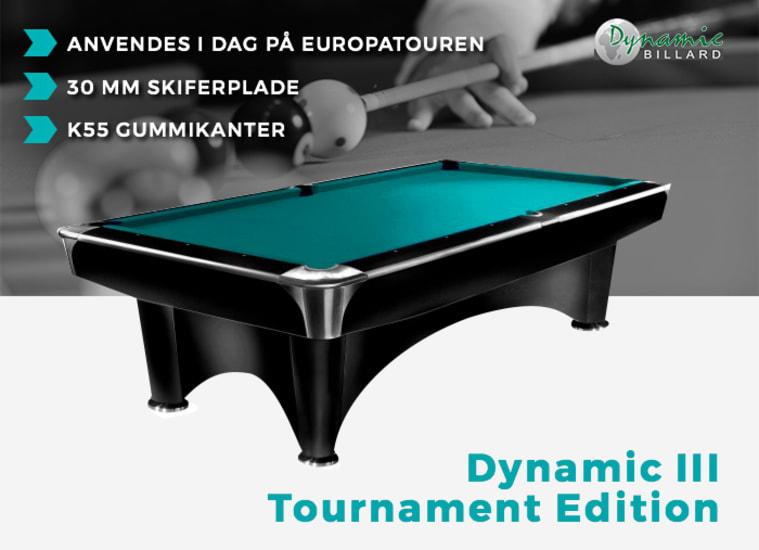 Billardbord Dynamic Tournament Edition