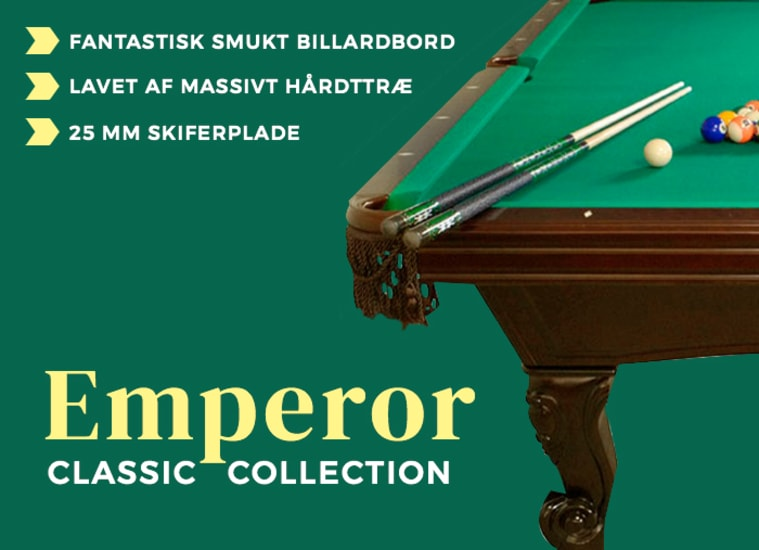 Billardbord Classic Collection