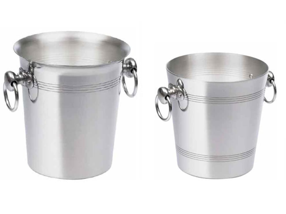 Boxinbag Eis-Weinkühler Gebürstetes Aluminium