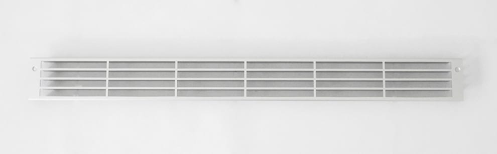 Ventilationsgaller - aluminium (570 x 57 mm)