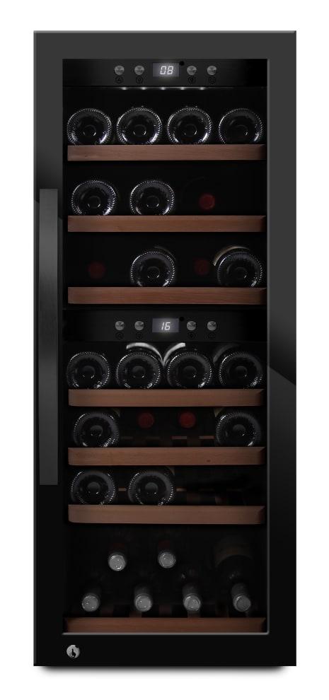 mQuvée - fristående vinkyl i glansig svart design