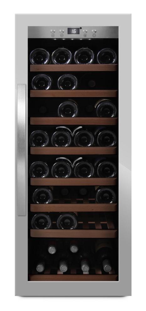 mQuvée - rostfri fristående vinkyl - rymmer 43 flaskor