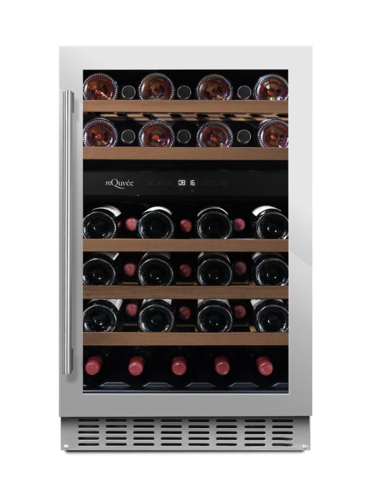 Inbyggbar rostfri vinkyl från mQuvee
