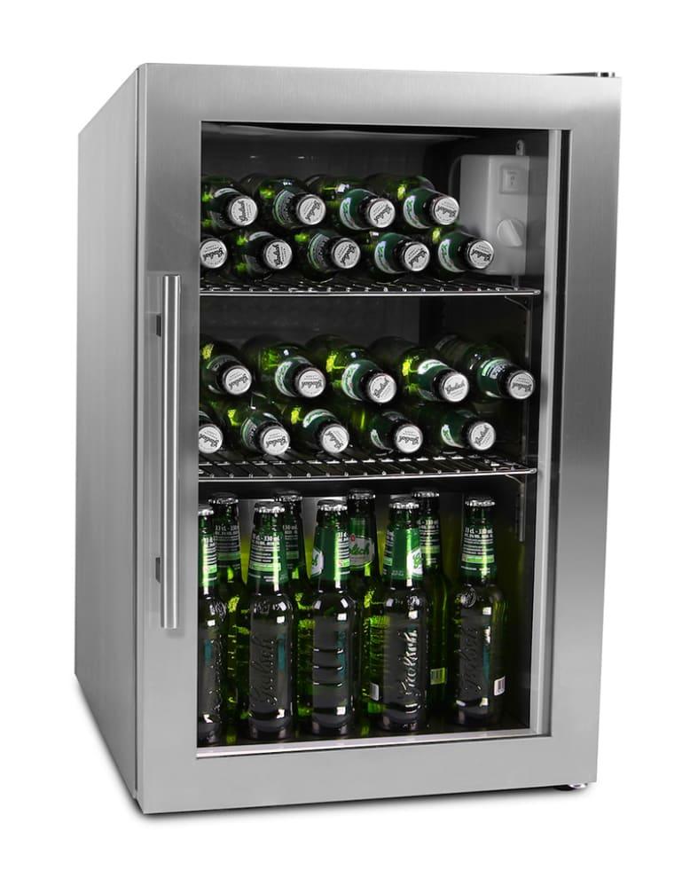 Fritstående Ølkøleskab - 63 L Stainless