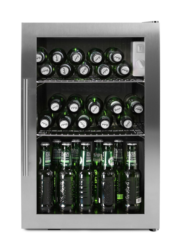 Free-standing beer cooler - Arctic Collection 63 l Stainless