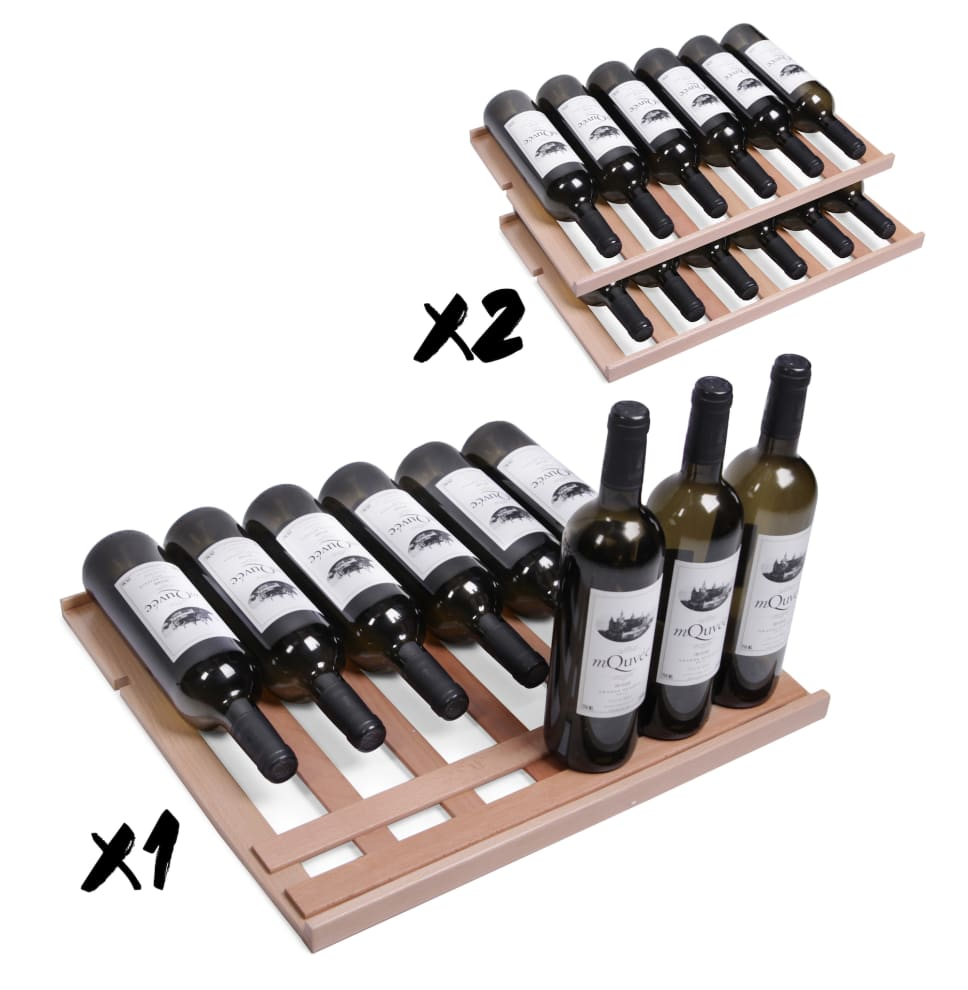 Hylly ''Presentation'' mQuvée - WineCave