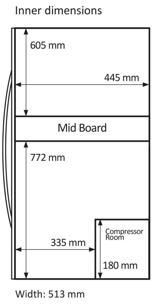 Fritstående vinkøleskab - WineExpert 126 Stainless