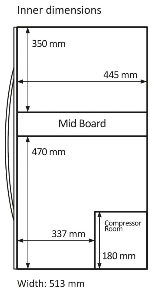 Fritstående vinkøleskab - WineExpert 66 Fullglass Black