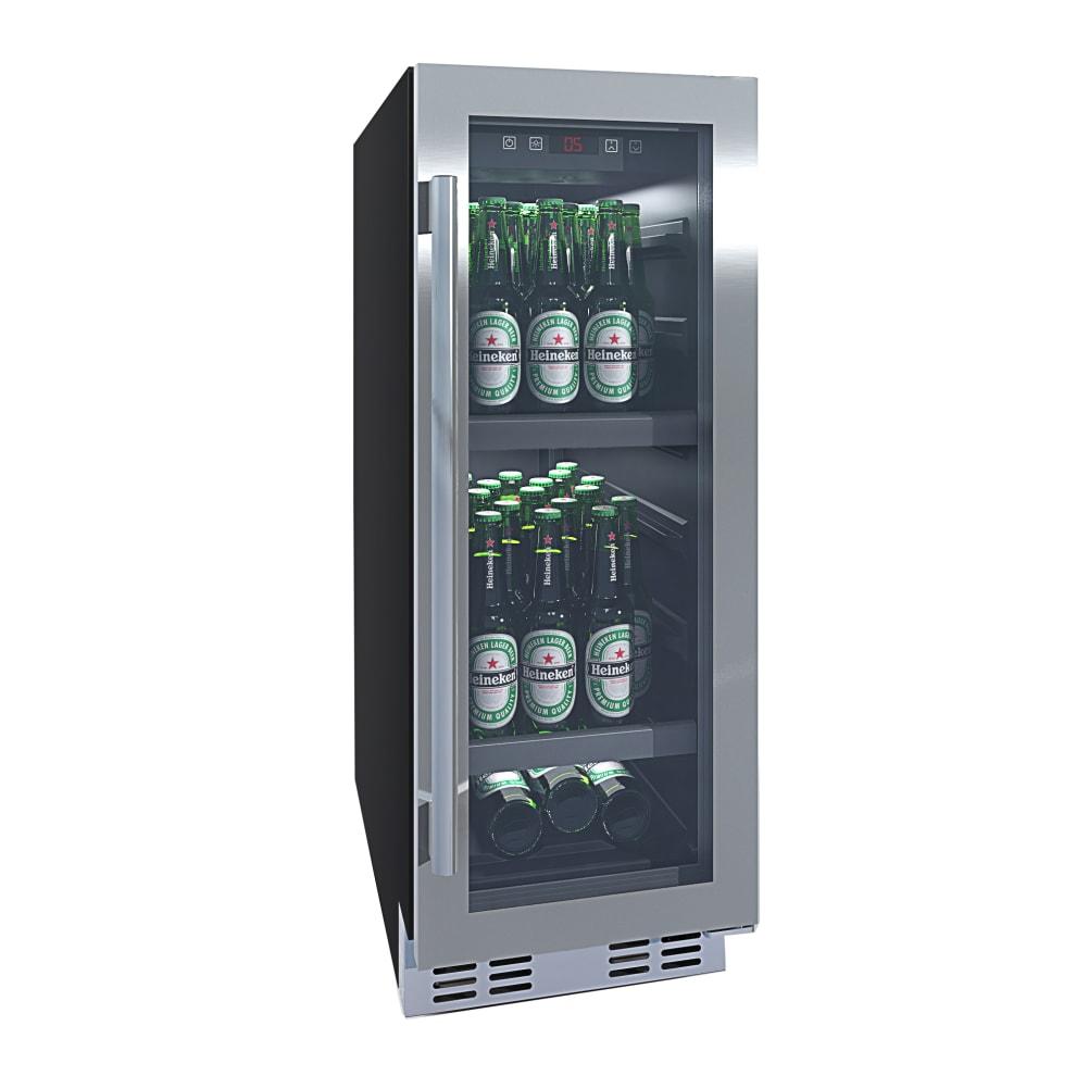 Built-in beer fridge stainless steel - BeerServer 30 cm