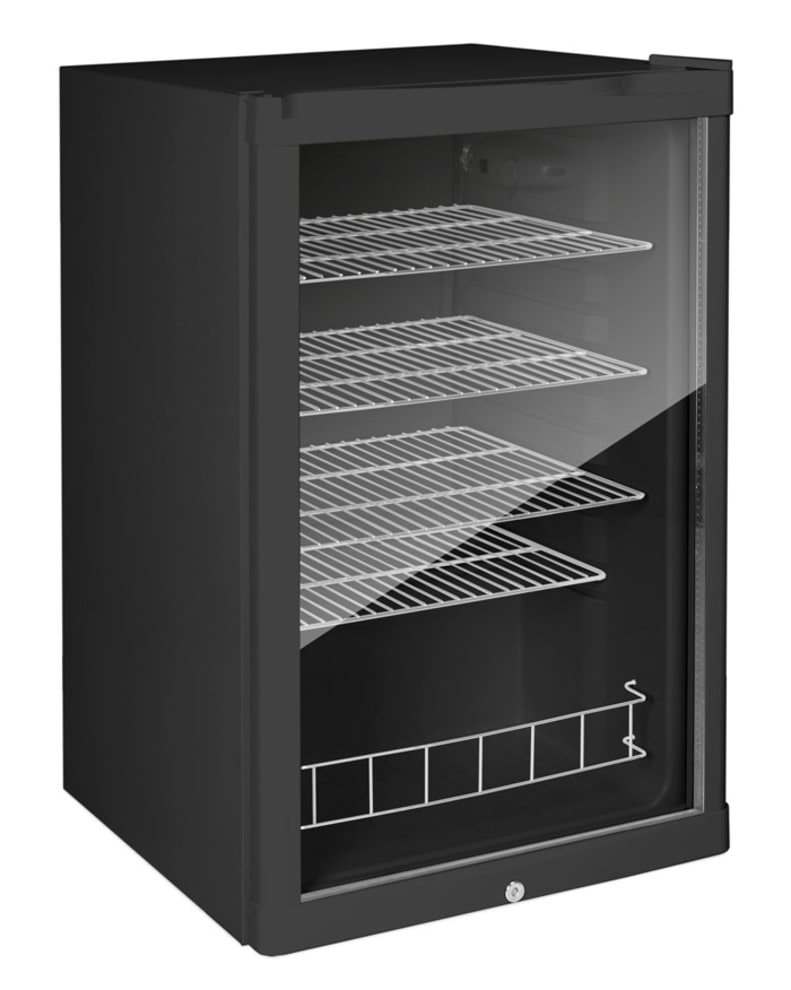 Free-standing beer cooler - Polar Collection 115L Black