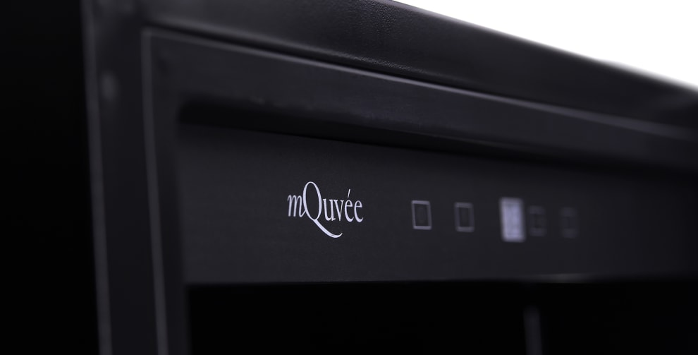 mQuvée wine cabinet  - WineStore 177 - 15 shelves - Anthracite Black (W: 59,5 x H: 176,8 x D: 57 cm)