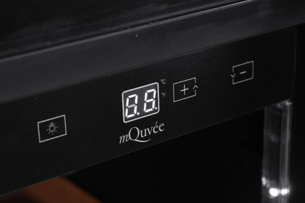 Inbyggbar vinkyl från mQuvee display