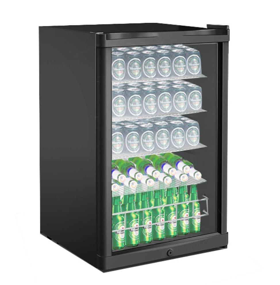 Cavin Fritstående ølkøleskab - Polar Collection 115 L Sort