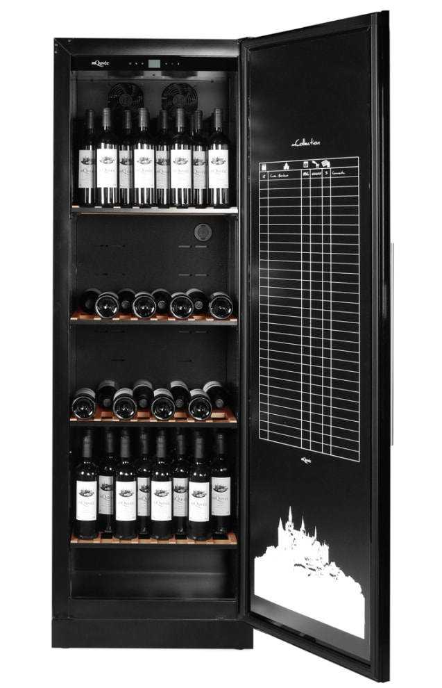 mQuvée Wine cabinet - WineGuardian 125 Solid