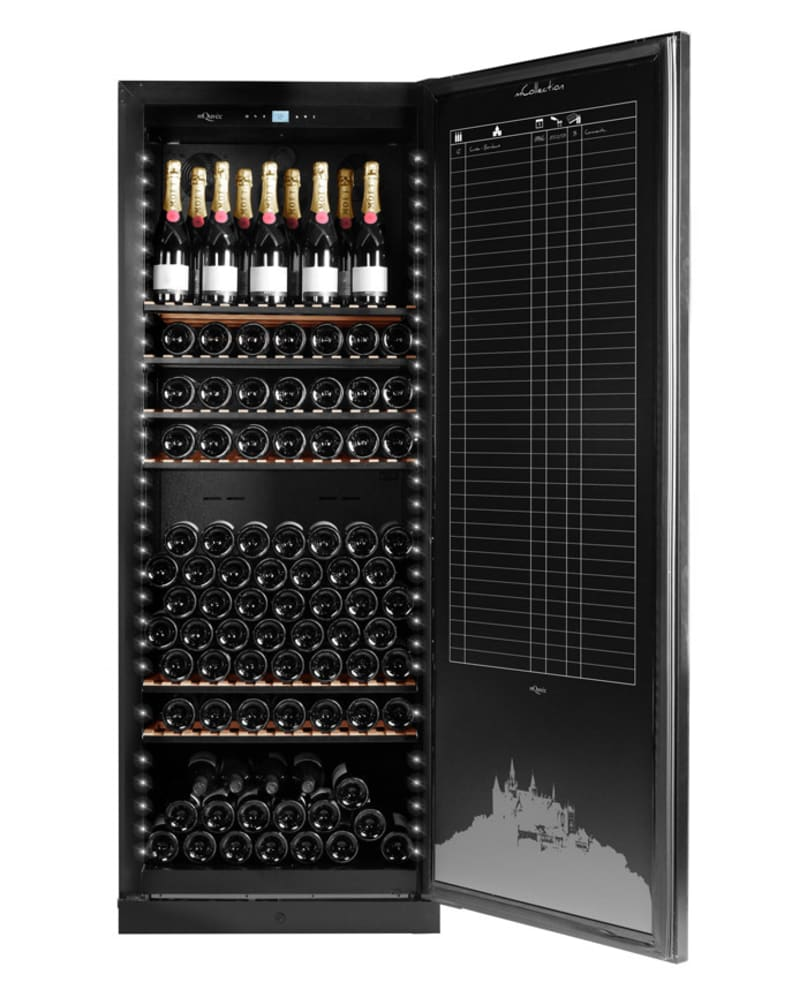 mQuvée Wine cabinet - WineGuardian 220 Solid