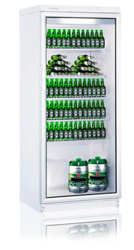 Fritstående Ølkøleskab 275 L Vit
