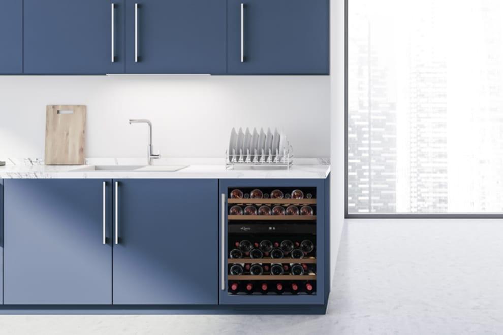 mQuvée Sisäänrakennettava viinikaappi – WineCave 700 60D Custom Made