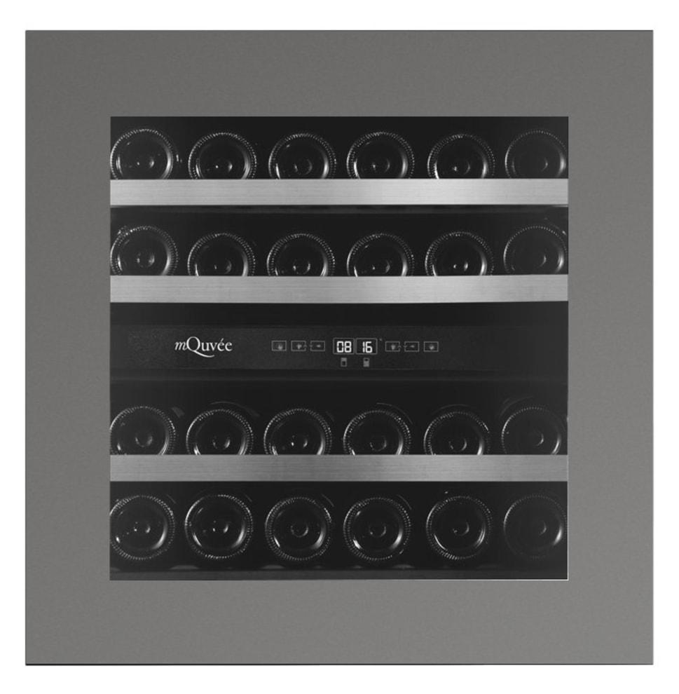 Integrierbarer Weinkühlschrank - WineKeeper Exclusive 25D Push/Pull Custom Made