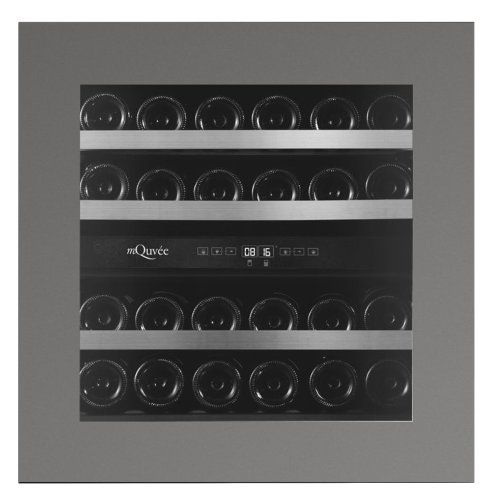 mQuvée integrerbart vinskap - WineKeeper Exclusive 25D Push/Pull Custom Made