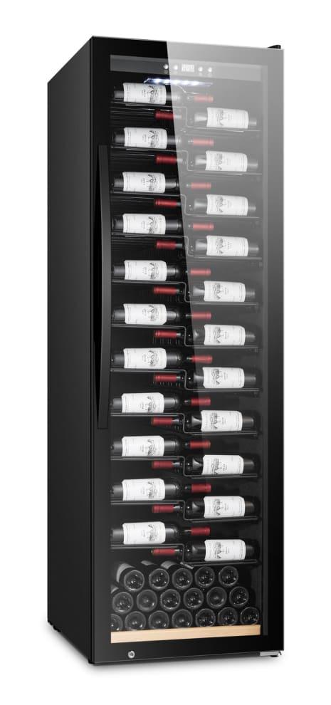 mQuvée Free-standing wine cooler - WineExpert 192 Fullglass Black Label-view