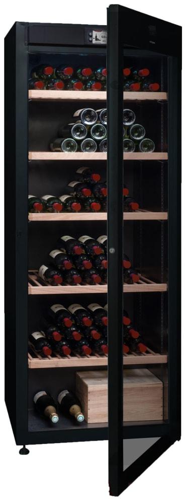 Vinlagringsskåp med glasdörr och plats för 294 flaskor