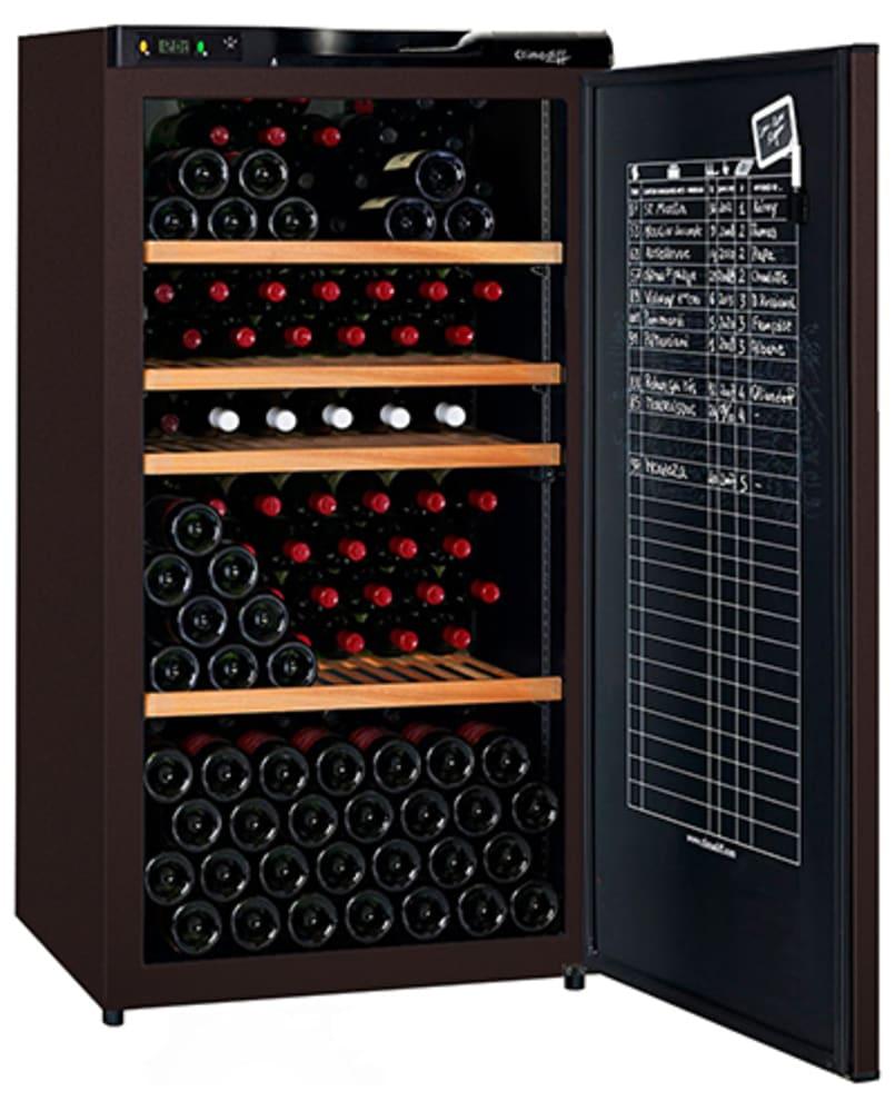 Vinlagringsskåp med solid dörr och plats för 196 vinflaskor