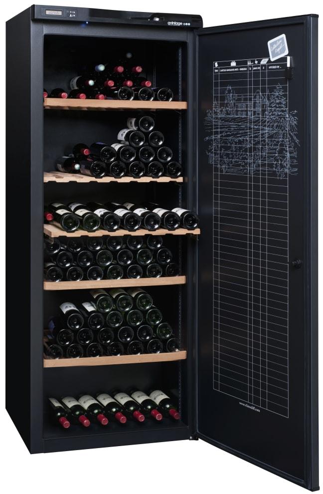 Stort och lyxigt vinlagringsskåp från Avintage