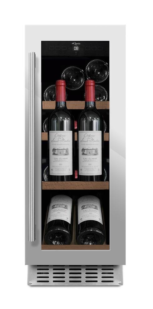 mQuvée innbyggbart vinskap Presentasjonshylle - WineCave 700 30S Stainless