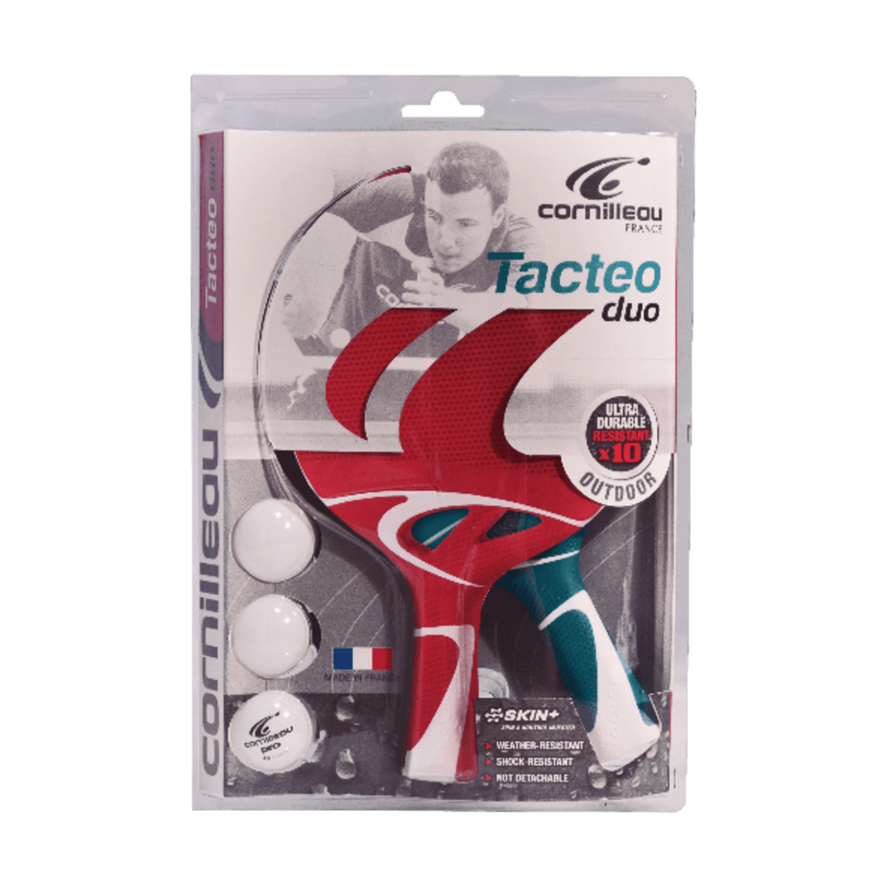 Tilbehørspakke Duo-pack Tacteo udendørs bat (2 bat + 3 bolde)