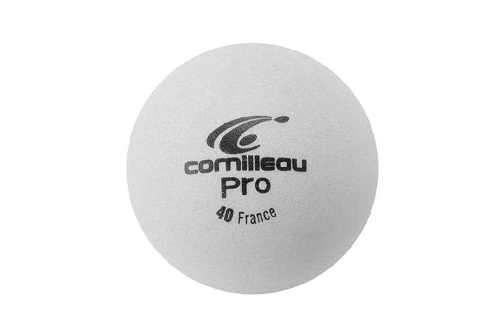 Cornilleau Pro bordtennisbollar 6-pack (vit)
