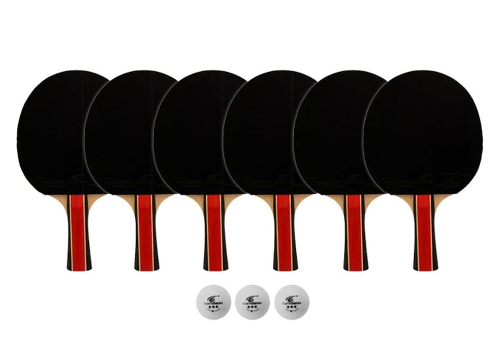 Tillbehörspaket 6-pack inomhusrack (6 rack + 3 bollar)