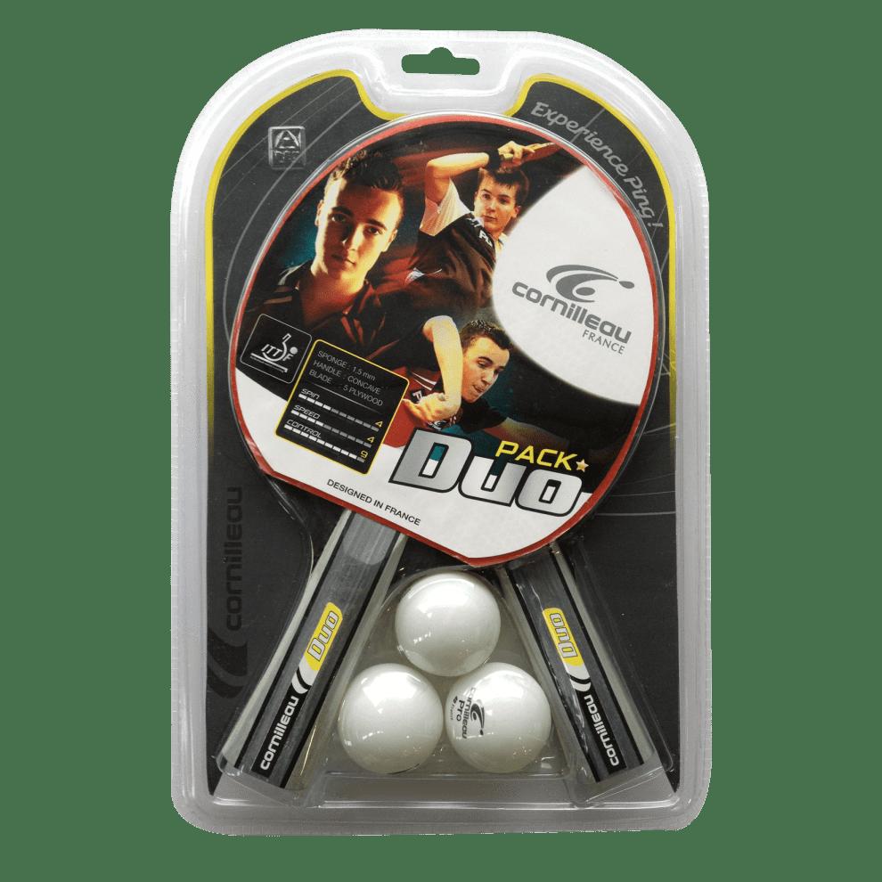 Tilbehørspakke DUO-pack innendørsracket (2 racketer + 3 baller)
