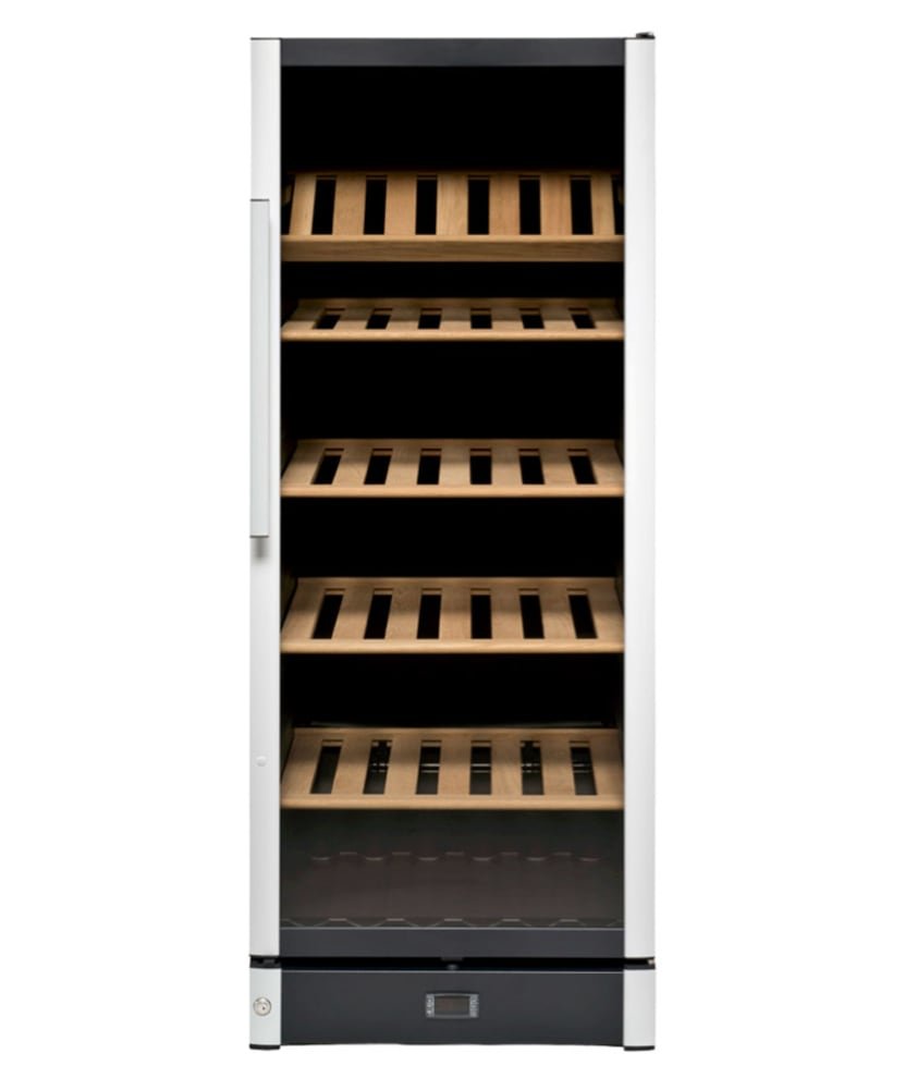 Fristående vinkyl i modern design utan flaskor
