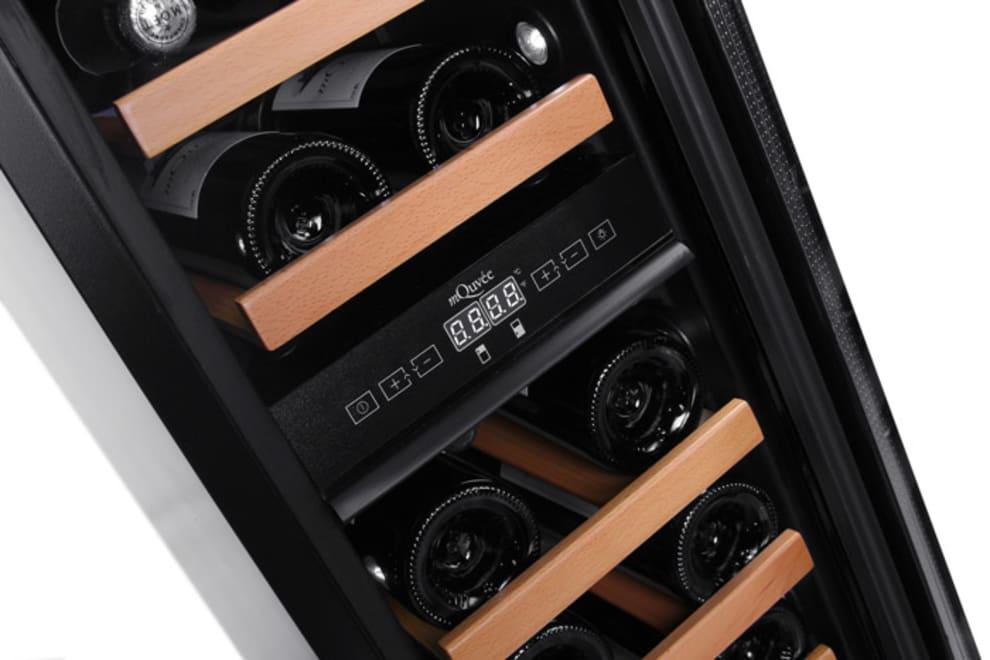 mQuvée Einbau-Weinkühlschrank -  WineCave 30D Stainless