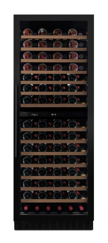 Vinoteca encastrable mQuvée - WineCave Exclusive 187 Anthracite Black