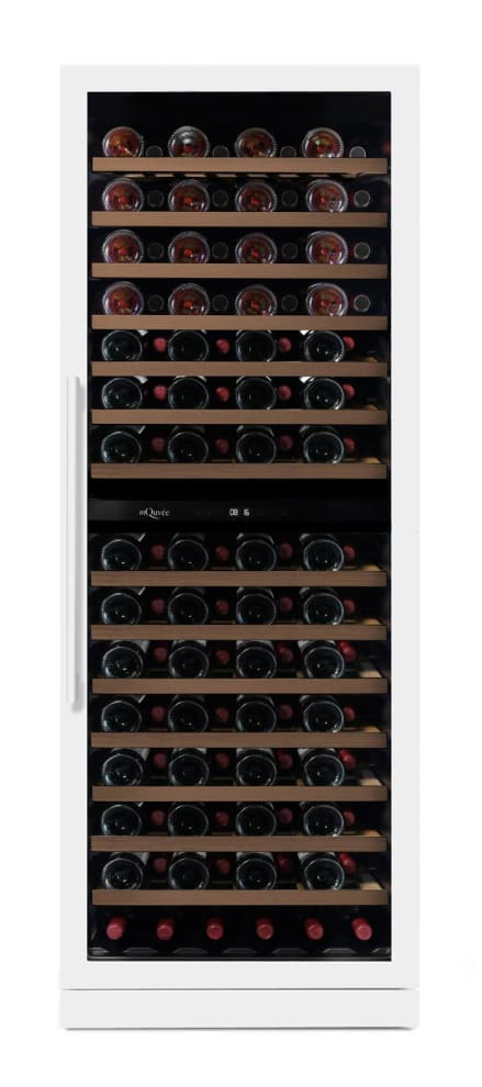 mQuvée Built-in wine cooler - WineCave Exclusive 187 Powder White