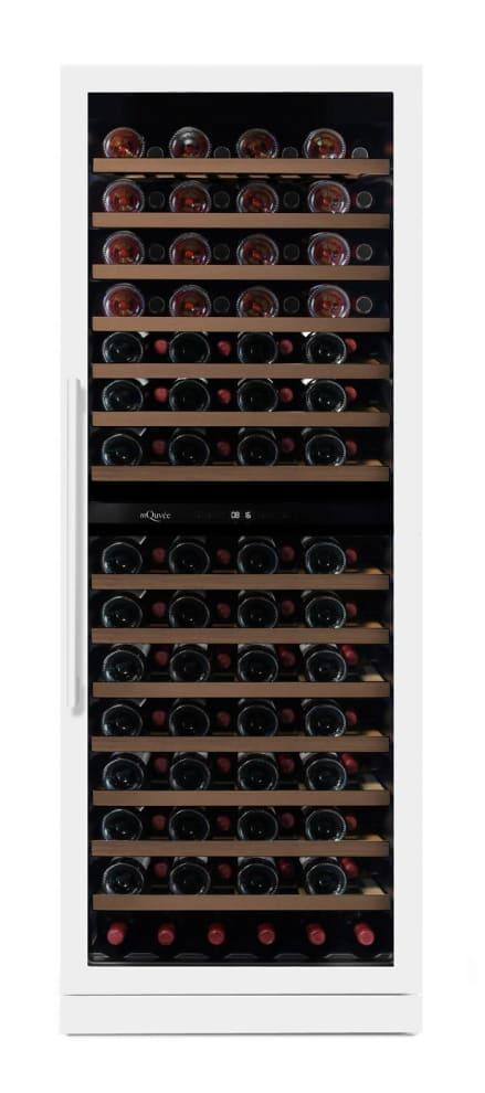 mQuvée Sisäänrakennettava viinikaappi - WineCave Exclusive 187 Powder White