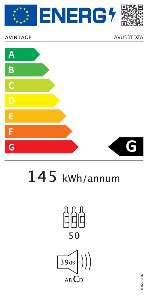 Inbyggbar vinkyl - AVU53TDZA