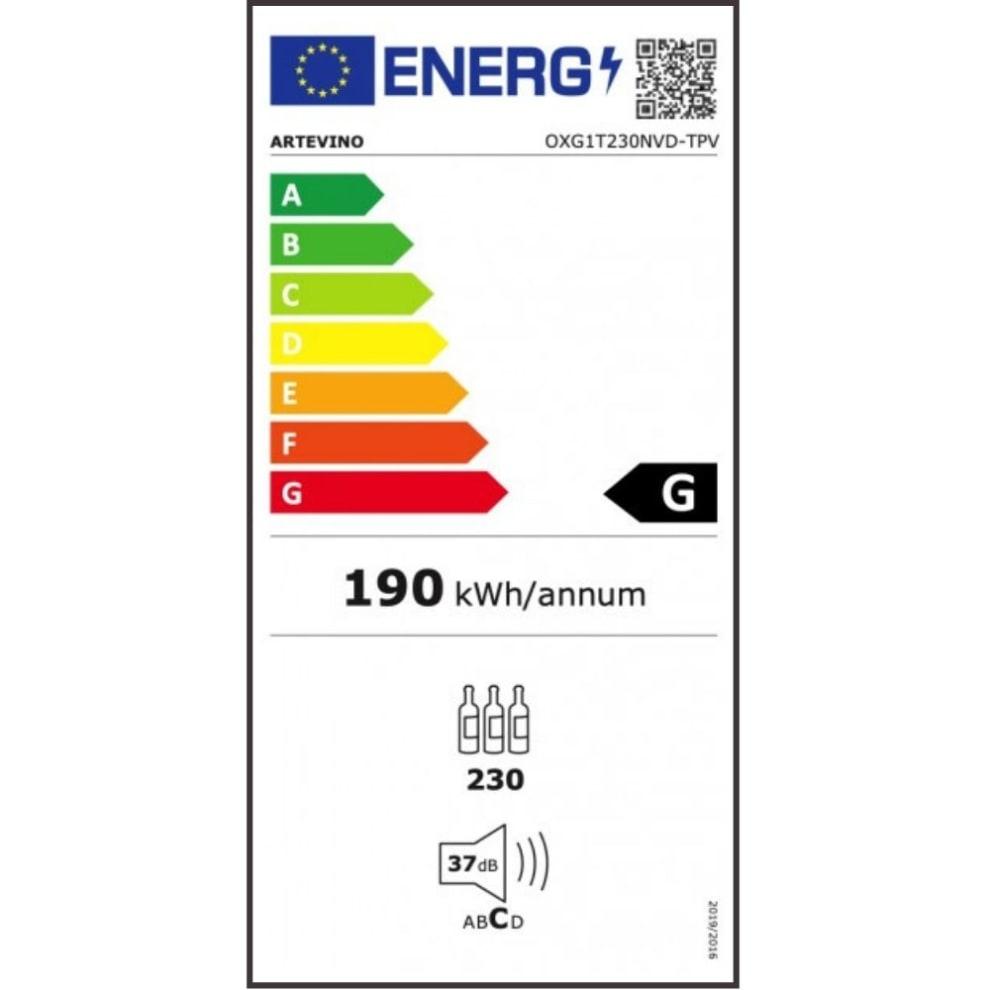 Artevino vinopbevaringsskab - OXG1T230NVSD