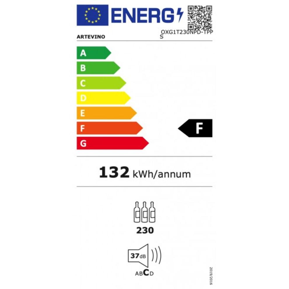Artevino vinopbevaringsskab - OXG1T230NPD