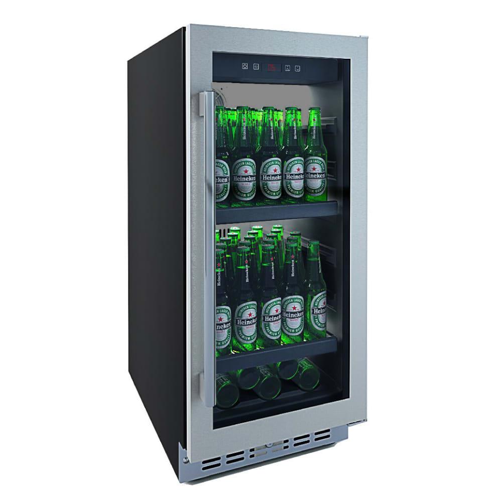 Einbau-Bierkühlschrank in Edelstahl – Subzero Beer Froster 700 40 cm