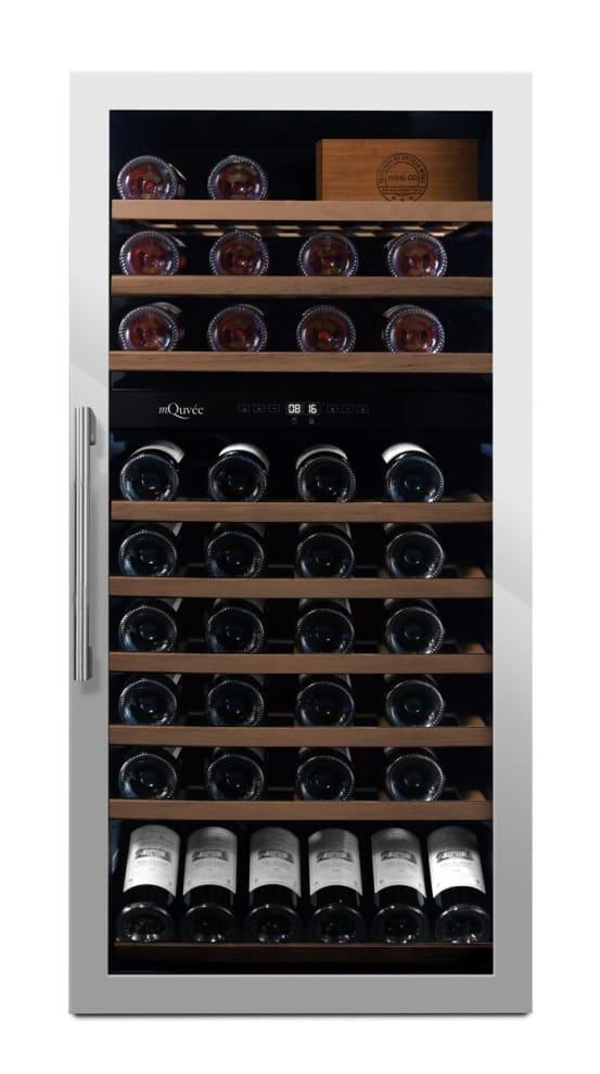 mQuvée fritstående vinkøleskab - WineServe 70 Stainless