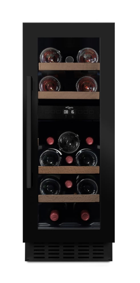 mQuvée Sisäänrakennettava viinikaappi – WineCave 700 30D Anthracite Black