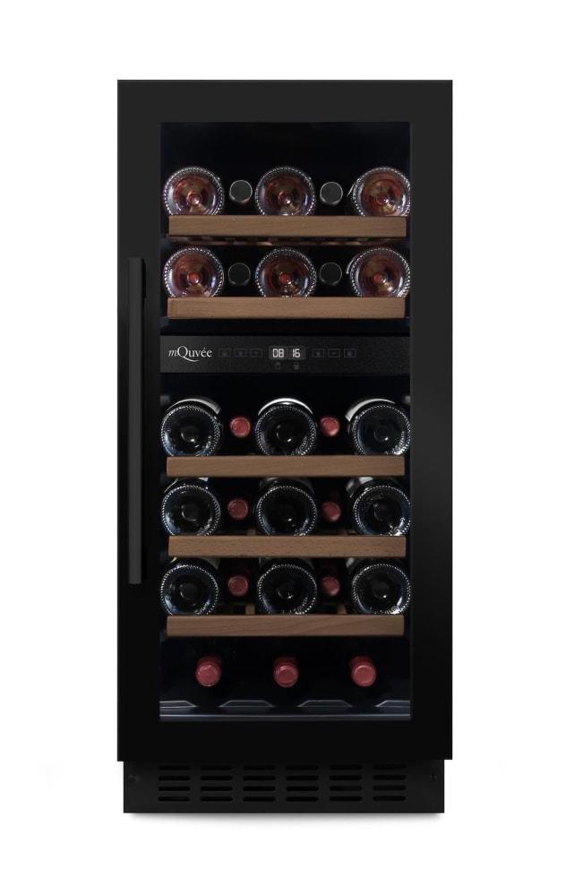 mQuvée Inbyggbar vinkyl - WineCave 700 40D Anthracite Black
