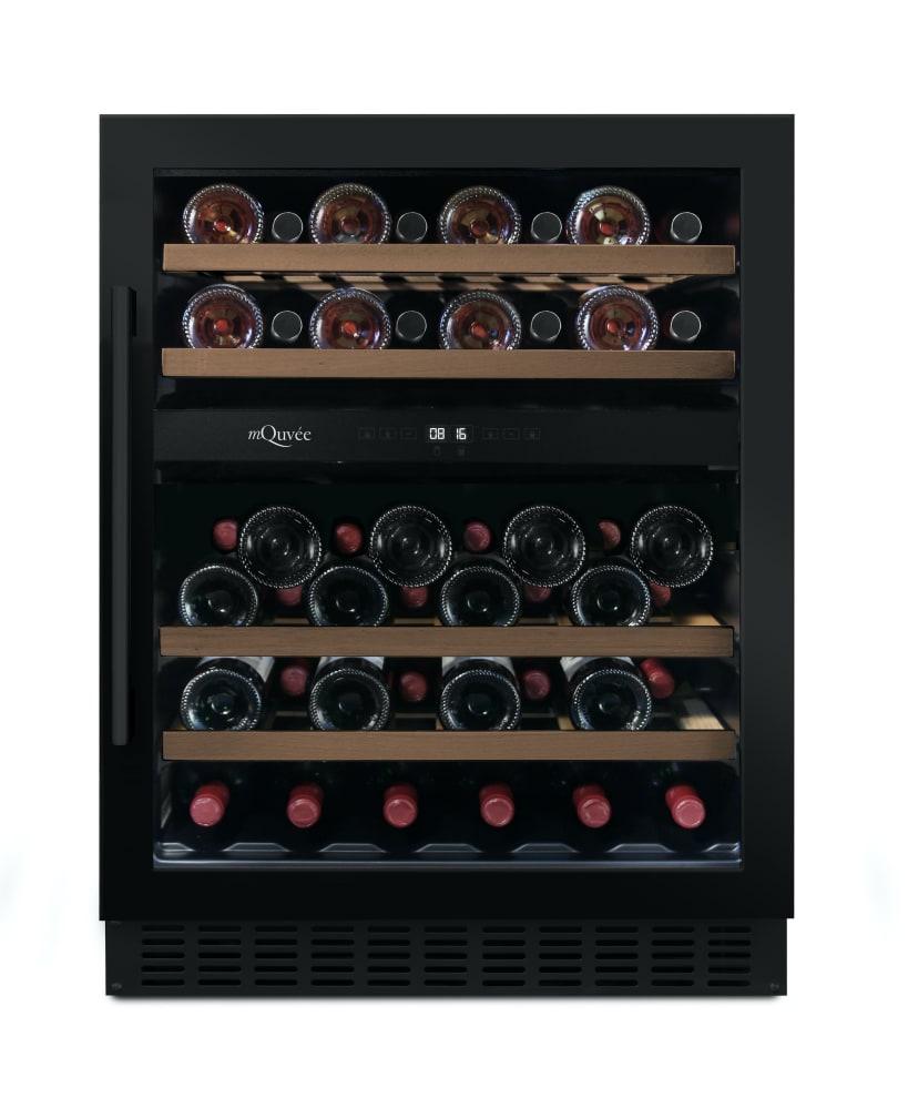 Vinoteca encastrable mQuvée - WineCave 700 60D Anthracite Black