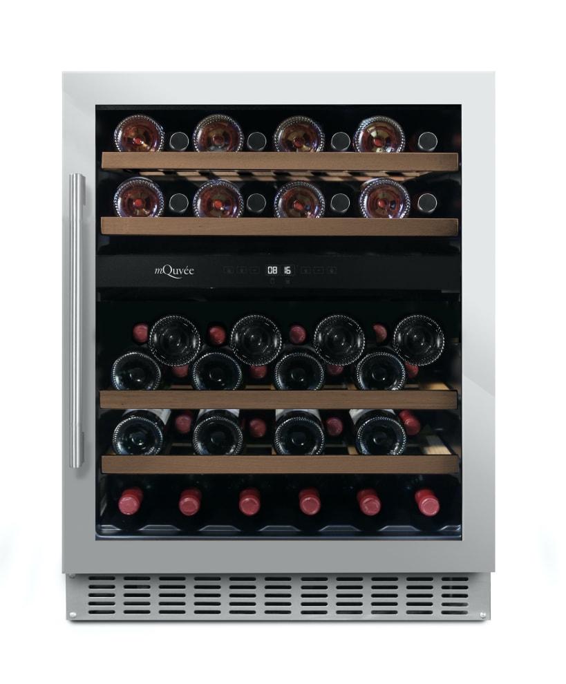 Innbyggbart vinskap - WineCave 700 60D Stainless
